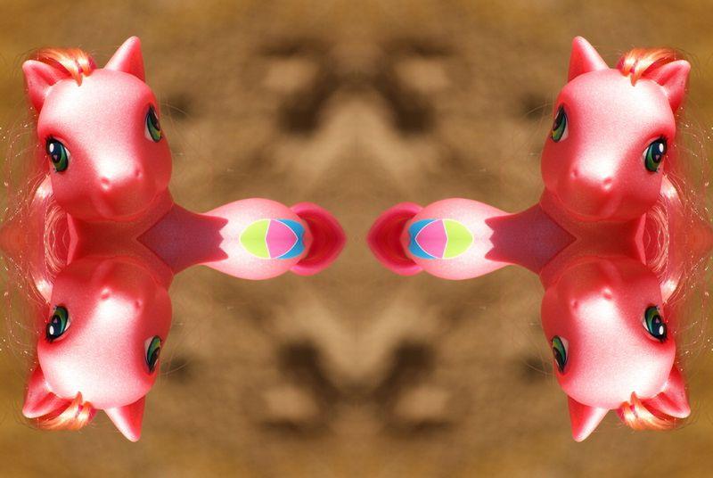 mon petit poney kaleidoscope photofarfouille