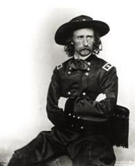 Les guerres amérindiennes  Custer-battle-general-custer