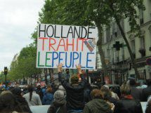 Hollande trahit le peuple