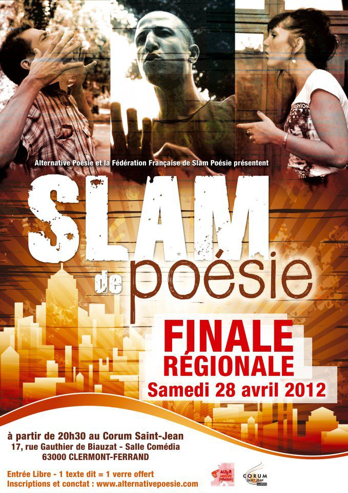 finale regionale de slam poesie 25042012