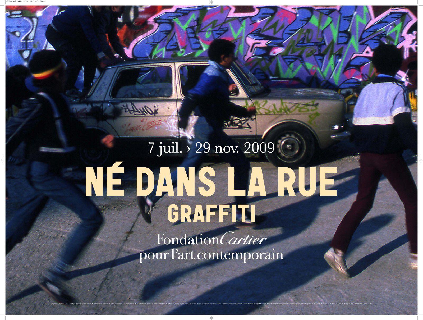 Nés dans la rue - Graffiti à la fondation Cartier