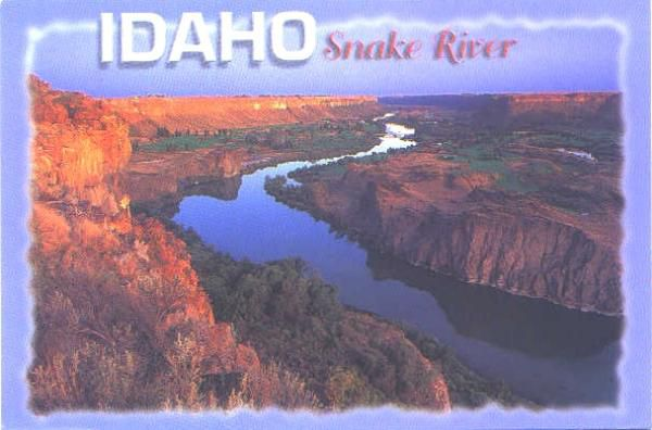 Canyon de la Rivière Serpent, Idaho
