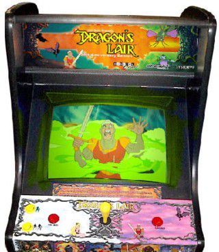 dragons lair arcade
