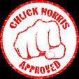 chuck norris approuvé