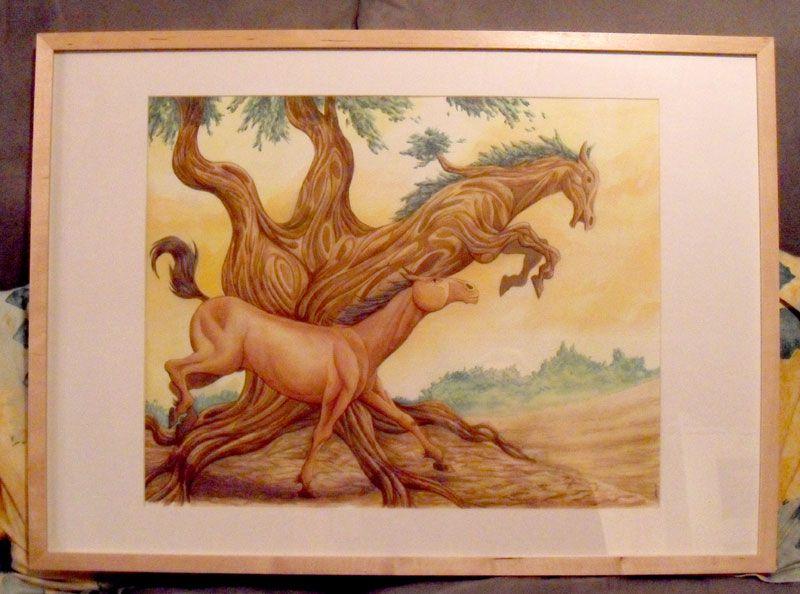 cheval-libre-cadre
