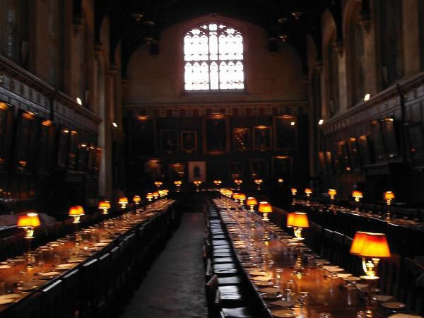 Christ Church College - The dining room