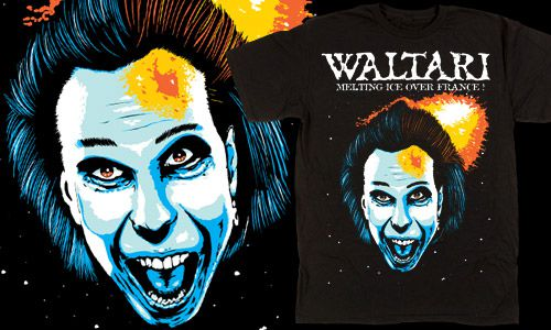 WALTARI FRANCE 2010-Tshirt exclusif dedicated to the french