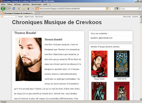 rock poster interview - crewkoos