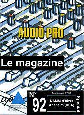 Couverture Audio Pro n° 92