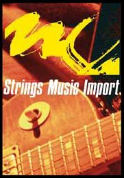 Logo Strings Music Import