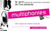 Affiche Multiphonies 2008