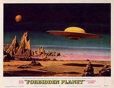 Affiche pour Forbidden Planet