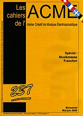 Couverture Cahiers Acme n° 237