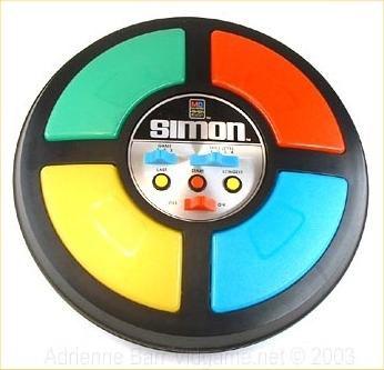 Le jeu Simon (R)