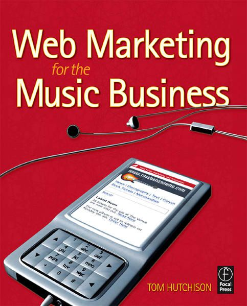 Couverture Web Marketing for the Music Business