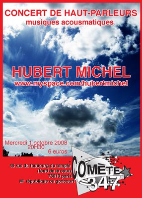 Concert Hubert Michel