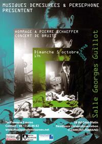 Affiche concert-anniversaire Clermont-Ferrand