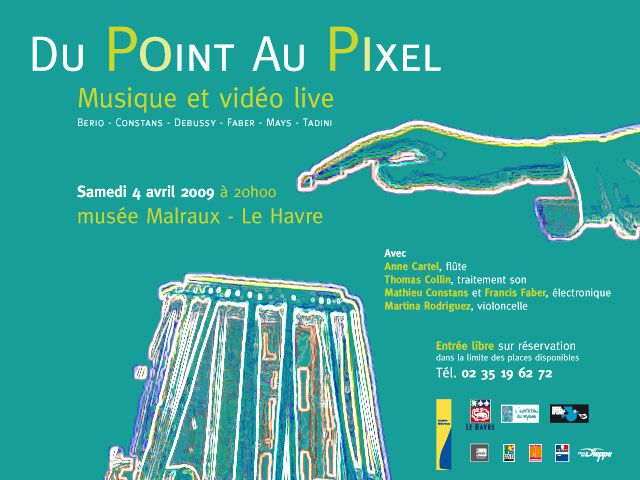 Affiche Du point au pixel10