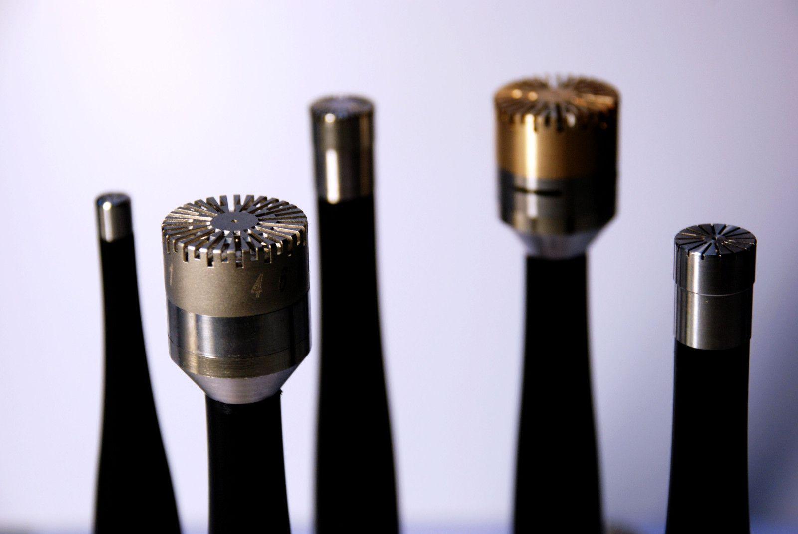Echantillons de microphones MicW