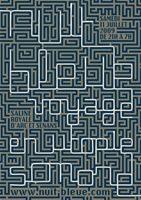 Affiche Nuit Bleue 2009