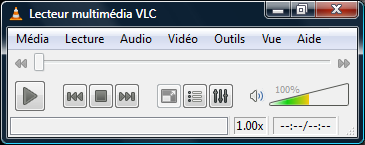 Copie d'écran de VLC Media Player