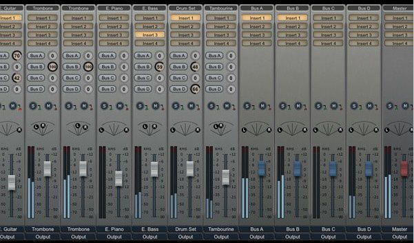 La console de mixage audio virtuelle de Notion 3