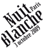 Logo Nuit Blanche 2009