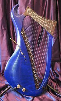 Electrolyre : la 1ère harpe électronique