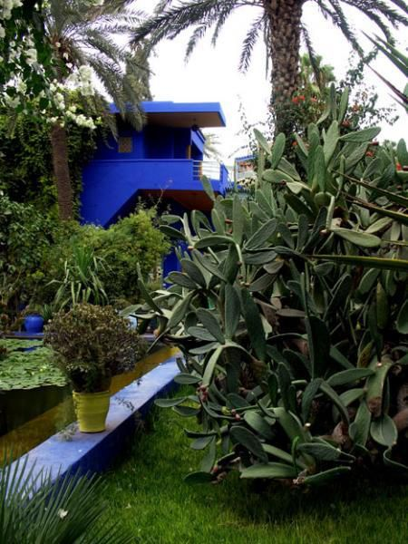 la villa majorelle a marrakech le blog de philippe charpentier. Black Bedroom Furniture Sets. Home Design Ideas