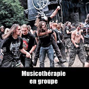musicothérapie death metal
