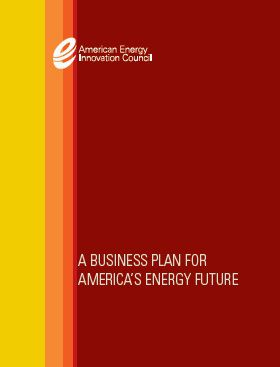 Business plan fo america energy future