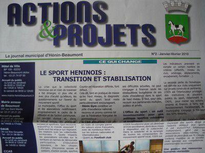 Actions et projets2