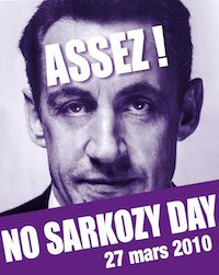 No Sarkozy day 2