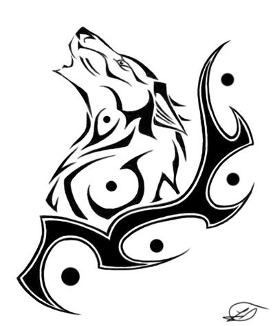 Bona Na Croin Wolf Tattoo by *WildSpiritWolf on deviantART. Tatouage Tribal