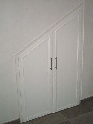 Remise en tat de portes de placard le journal intime de for Porte couloir maison