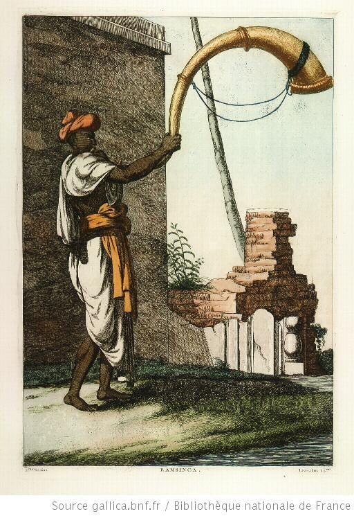 Ramsinga, instrument de musique hindoue
