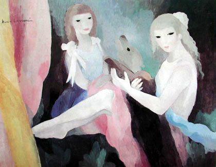 Favori Marie Laurencin, peintre de la douceur du sourire - Contribution  RG87