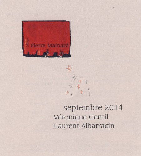 EDITIONS PIERRE MAINARD SEPTEMBRE 2014