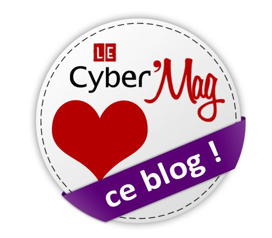 Pastille Le CyberMag aime ce blog