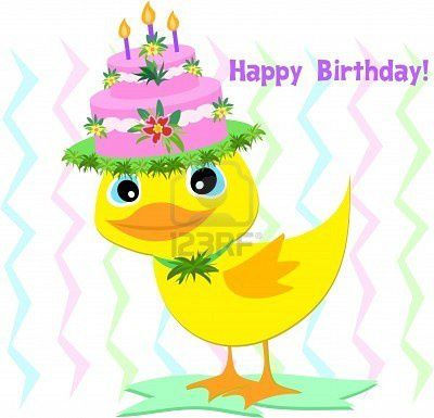 6910416-happy-birthday-hat-sur-un-canard