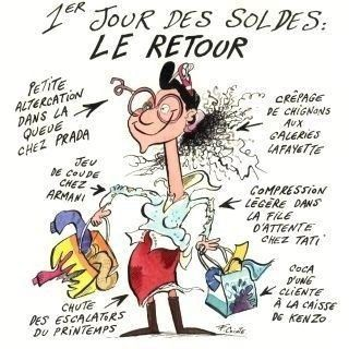 soldes humour