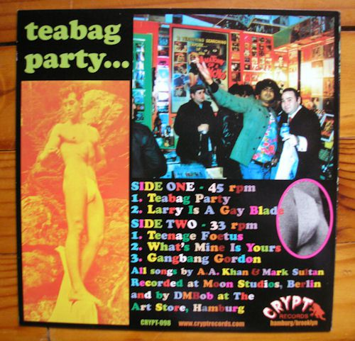 King Khan & BBQ Show - Teabag Party EP