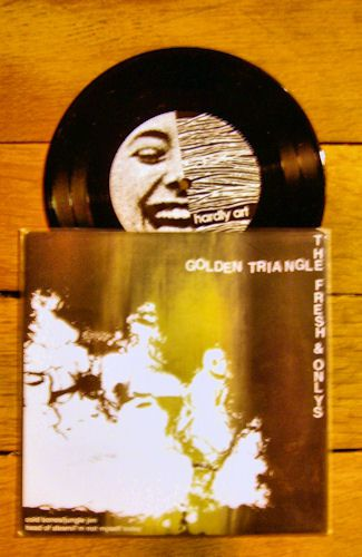 The Fresh & Onlys / Golden Triangle - Split single