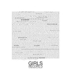 Girls - Father, Son, Holy Ghost