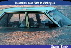 [Etats-Unis] Photo des fortes précipitations et inondations dans l'Etat de Washington
