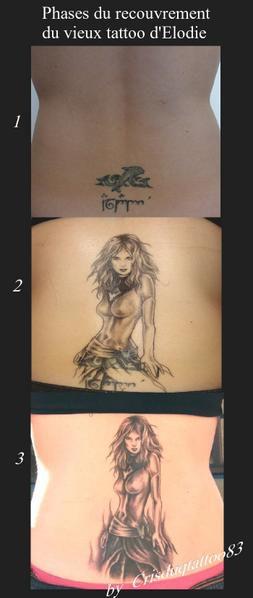 Recouvrements et modifications d'anciens tatouages !Cover Old tattoo