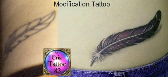 Recouvrements et modifications d'anciens tatouages !
