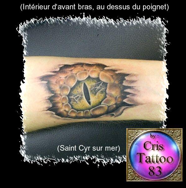 Tatouages de Christophe Duquenne
