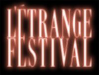 L'ETRANGE FESTIVAL