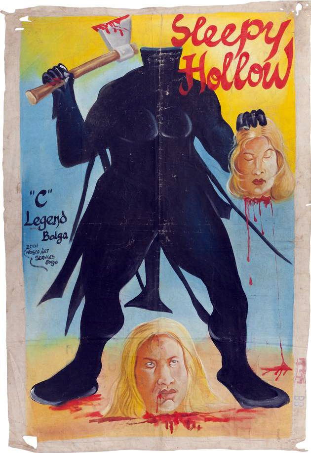 SLEEPY HOLLOW (AFFICHE GHANEENNE)